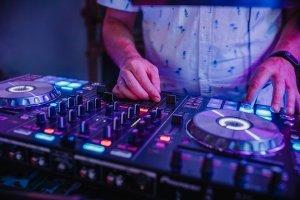 Mischpult Pioneer DJ Hartmut Besser Kokerei Hansa Dortmund